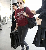 Kristen Stewart Arrives at LAX Airport - November 17