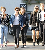 Kristen Stewart Chilling with Friends at Madonna Inn - November 16