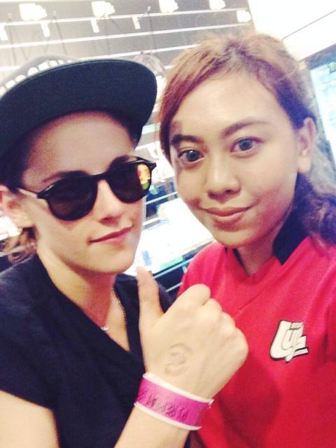 Kristen Stewart In Singapore - September 6