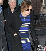 Kristen Stewart Arrives at Her Hotel in NYC - January 13