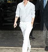 Kristen Stewart Arrivinbg at Tribeca Hotel - January 15