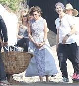 Kristen Stewart Filming Photoshoots in Malibu - February 17