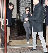 Kristen Stewart Heading To The Jon Stewart Show - January 15