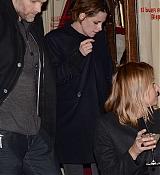 Kristen Stewart Leaving Fendi Restaurant - February 19