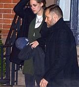 Kristen Stewart Leaving Julianne's Moore Condo - January 14