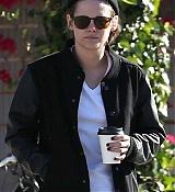 Kristen Stewart Out for a Coffee Run - Feb 26