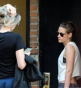 Kristen Stewart With Abbey Lee in NYC - September 17