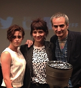 Kristen Stewart at NYFF Clouds of Sils Maria Press Conference - October 8