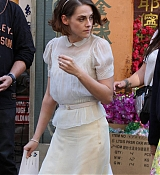 Kristen Stewart Filming Untitled Woody Allen Project - September 18, 2015
