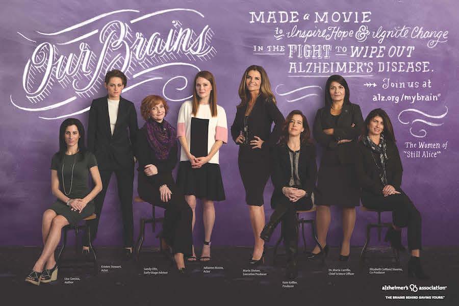 Kristen Stewart & Still Alice Women for Alzheimers Disease Campaign