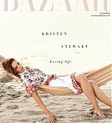 Kristen Stewart Featured on Harpers Bazaar UK - June