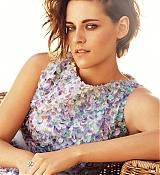 Kristen Stewart Poses for Harper Bazaar UK Scans