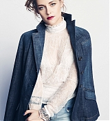 Kristen Stewart on the Marie Claire Magazine August Issue Scans