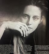 Kristen Stewart for Wonderland Magazine Scans