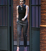 Kristen Stewart on  Late Night with Seth Meyers HQ Stills - January 15